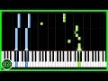 Let It Go Frozen Easy Piano Tutorial