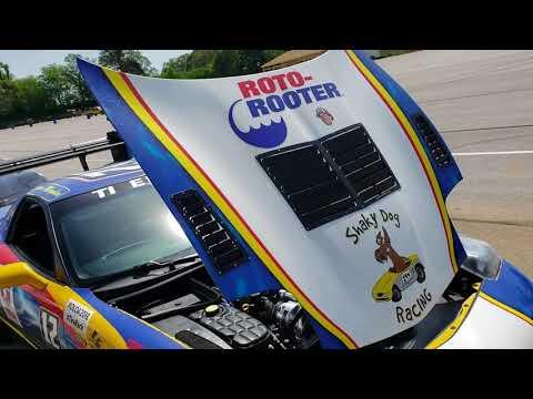 Roto-Rooter Corvette Walk Around | One Lap of America 2018