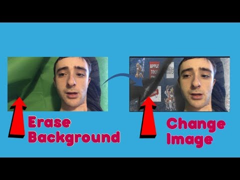 How To Erase The Background and Use The Video Green Screen on iPhone, iPad & iPod
