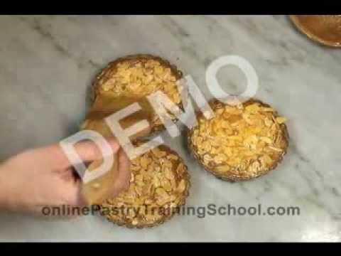 Learn how to make an almond tartlet