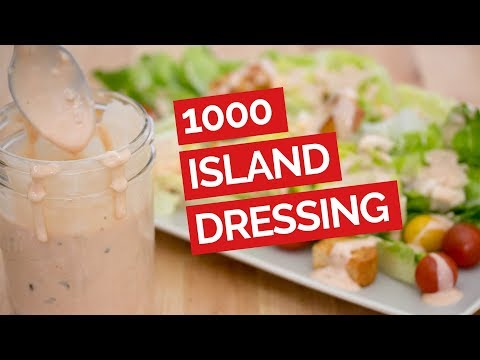 Classic Thousand Island Salad Dressing Recipe