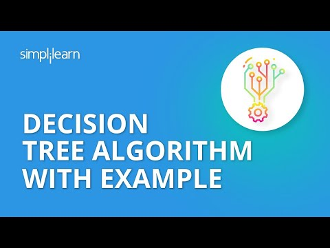 Decision Tree Algorithm With Example | Decision Tree In Machine Learning | Data Science |Simplilearn