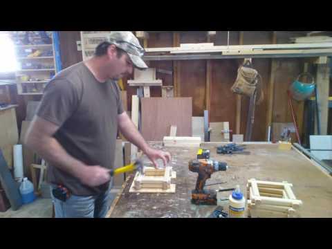 Build a log cabin bird house -2