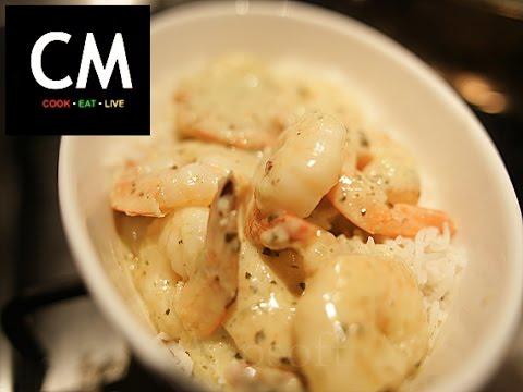 Easy garlic prawn recipe