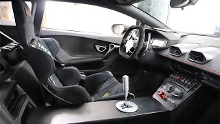 Burntacan Goes Full Race Car Interior! Exposed Gated Shifter, Seats, Harnesses, Switch Panels.