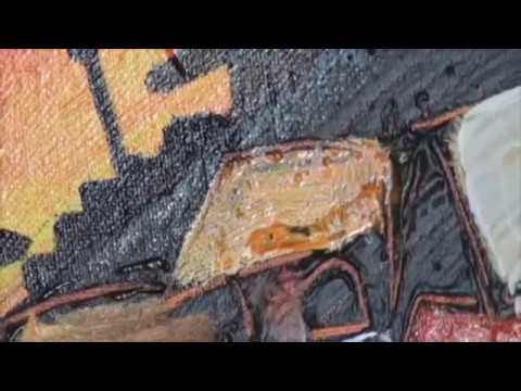 How to Draw | Mixed Media Art Lessons Nick Broughton on Colour In Your Life