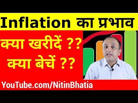 Inflation Impact on Stock Market (Hindi)