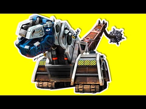 Dinotrux: Trux It Up [DreamWorks] D-Structs Dinosaur (NEW Blue Print Mode) Gameplay #3