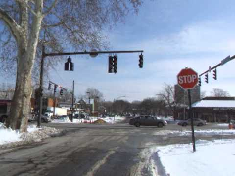 View TWO - Flashing Red Lights in East Cleveland Ohio - Ticket Trap