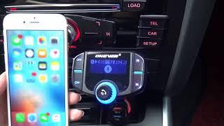 Onever QC3.0 Bluetooth Car Kit FM Transmitter