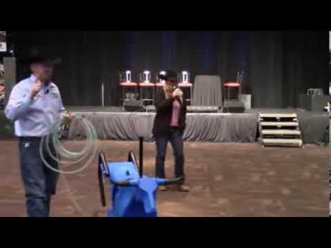 John McCarthy's Rope Smart Roping Dummy - NRS at the 2013 NFR