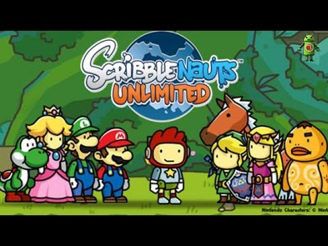 Scribblenauts Unlimited (iOS/Android) Gameplay HD