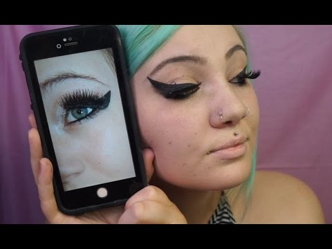 How I Did My Makeup In High school Challenge