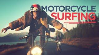 MOTORCYCLE SURFING! in 4K ULTRA HD // ScottDW - Wilderness