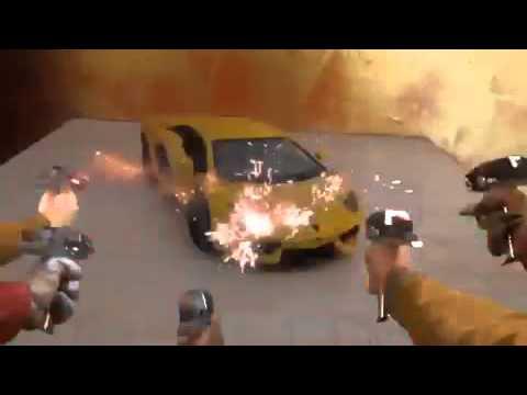 Bullet proof car...