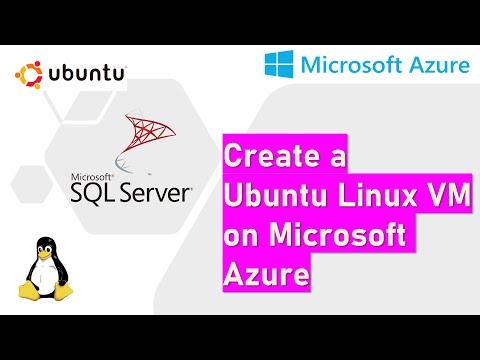 Create a Linux Ubuntu VM on Microsoft Azure