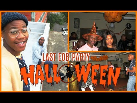 Ukzn Medical School End Of Block Halloween Theme Party | Mo Life