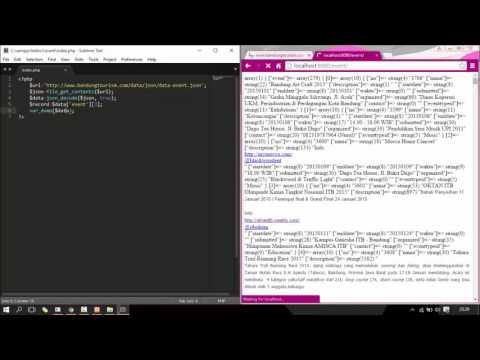 Parsing JSON Data Using PHP