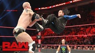 Jeff Hardy vs. Cesaro: Raw, April 17, 2017