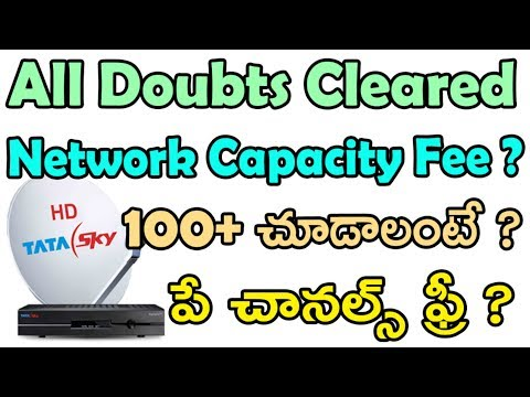 Trai new rules | dth new rules | trai network capacity free | dth pay channels for free | tekpedia