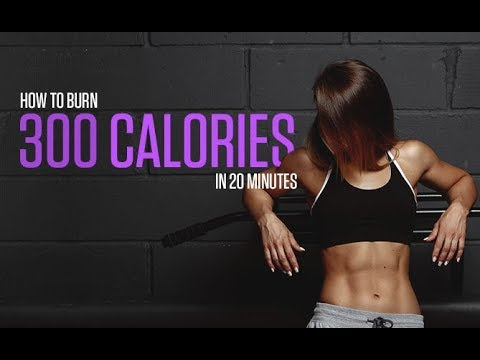 Burn 300 Calories in 20 Minutes (INTENSE FAT BURNING WORKOUT!!)