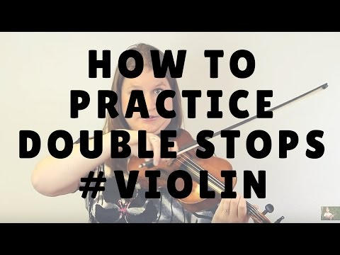 3 Steps to Practice Double Stops on the Violin or Viola | Violin Lounge TV #225