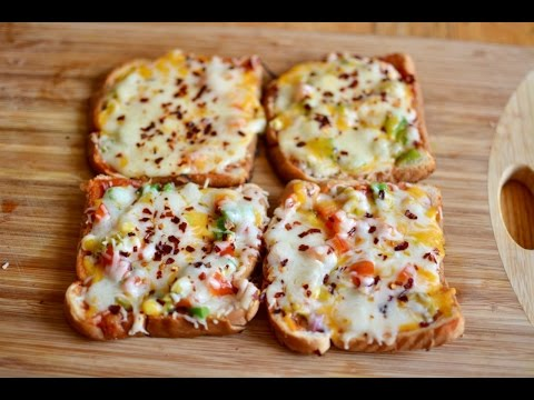 तवा ब्रेड पिज़्ज़ा रेसिपी | How to Make Bread Pizza Without Oven | Easy and Quick Bread Pizza Recipe
