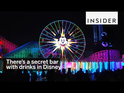 There's a bar with secret drinks in the middle of this Disney park