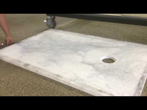 Sealing a Solid Marble Shower Floor