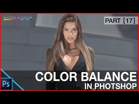 Photoshop Color Correction using Color Balance - Photoshop tutorial