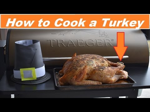 How to cook a Turkey on the Traeger...Just like the Pilgrims