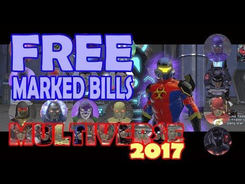 DCUO; FREE Marked Bills