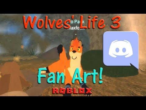 Roblox - Wolves' Life 3 - Fan Art! #2 - HD