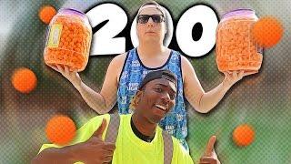 2000 CHEESE BALL EATING CHALLENGE