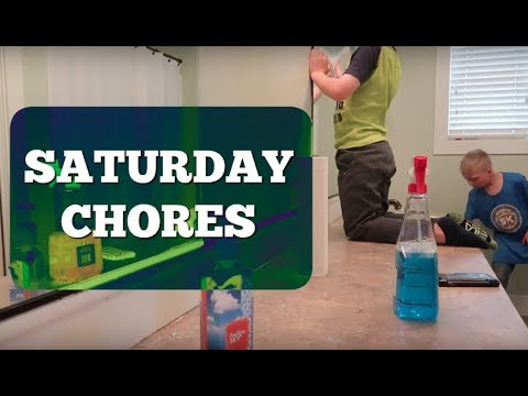 Chores, A Scary Story, and Grooming a Dog