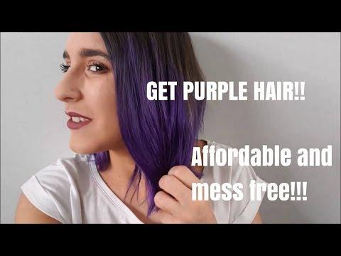 MY PURPLE HAIR ROUTINE! How I maintain brightly coloured hair ♡ Christina Mia
