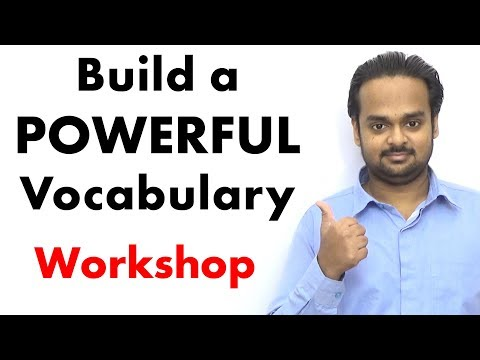 How to Build a POWERFUL Vocabulary - LIVE Workshop Replay - Increase Your Vocabulary