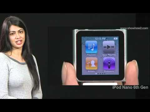 iPod Nano 6th Gen - How to Re-arrange Icons