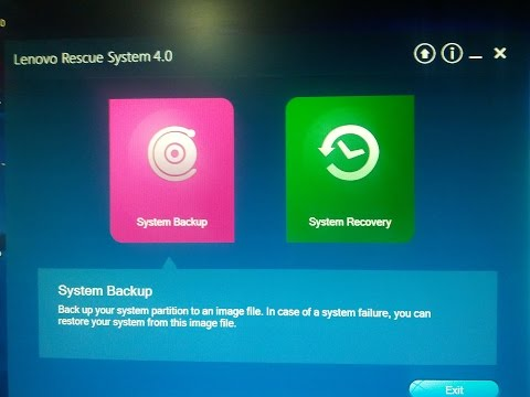 Easily Create a System Backup or Recovery File for Windows Desktop or Laptop