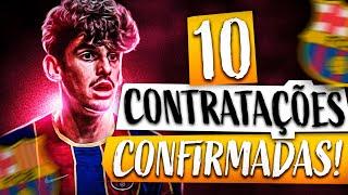 10 CONTRATAÇÕES JÁ CONFIRMADAS PARA 2020-2021