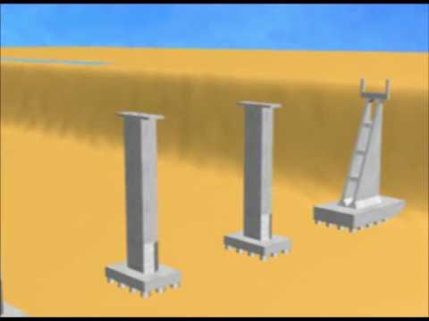 Construction of Railway bridge ll Basic Construction of Bridge