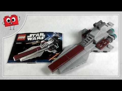 LEGO Star Wars - Republic Attack Cruiser - 30053 - Animated Build