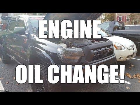 DIY Toyota Tacoma Oil & Filter Change - 4.0 V6 (Plus a Bonus Mod) AVOID THE STEALERSHIP!