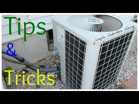Cooling Season Tip and Tricks - Annual air conditioning maintenance