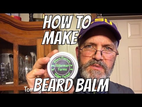 How to Make Conditioning Beard Balm | Lavender and Rosemary