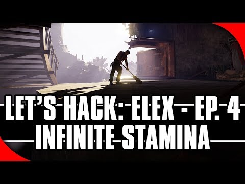 Let's Hack: ELEX, Ep. 4 - Infinite Stamina (Game Hacking with Cheat Engine)