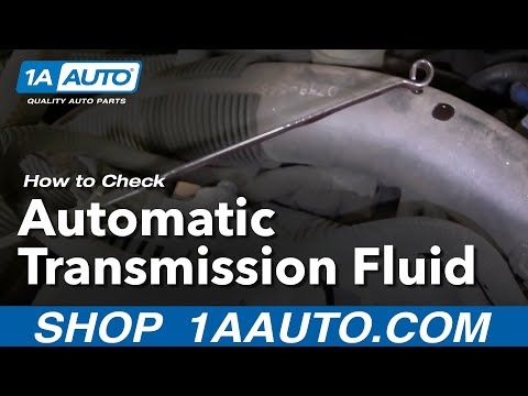 Auto Repair: How Do I Check or Add Automatic Transmission Fluid to My Car or Truck? - 1AAuto.com