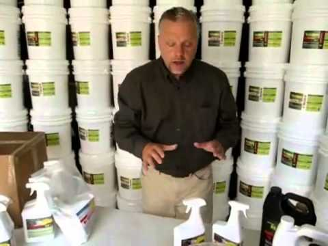 How to use oil solutions to remove oil stain and oil odor.