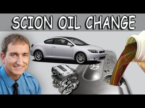 How to Change Oil Toyota Scion TC