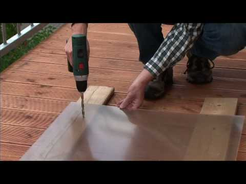 PLEXIGLAS® TV How to: build a Balcony railing